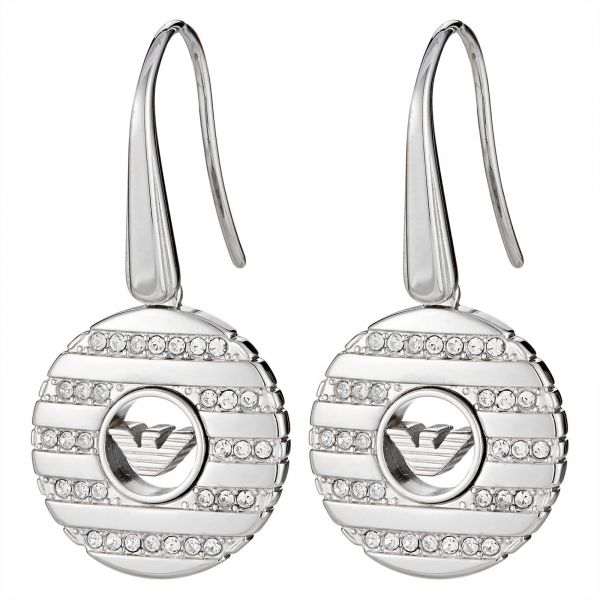 3184d531 EMPORIO ARMANI Women's Stainless Steel Drop & Dangle Earrings ...