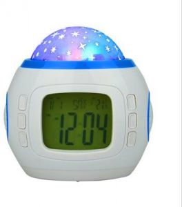 Clocks Objective Digital Led Alarm Clock Projector Music Starry Star Sky Projector Light Calendar Thermometer Table Bedroom Clock With Projection Home & Garden
