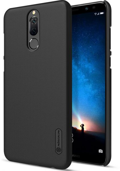 HUAWEI Mate 10 LITE / Nova 2i / Honor 9i Nillkin Super Frosted Shield Back  Case [BLACK Color] BY ONLINEPHONE