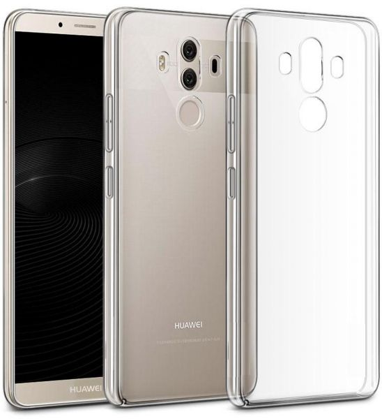 purchase cheap ebdcf 716e0 Huawei Mate 10 Pro Muzz Ultra thin TPU Gel Case Cover - Clear