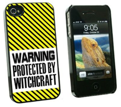 Graphics and More Warning Protected By Witchcraft - Snap On