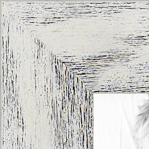 Picture Frame Gray Rustic Barnwood .. 1.5\'\' wide 5 x 11\