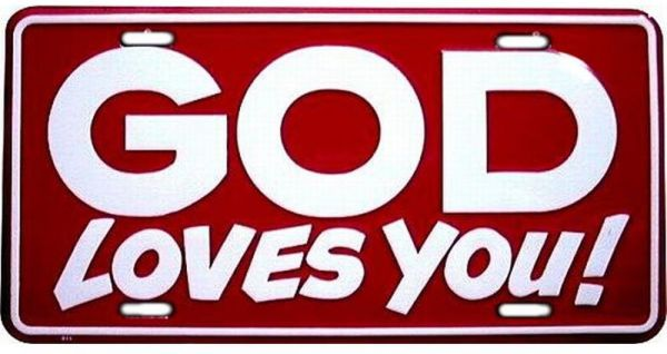 Signs god loves you