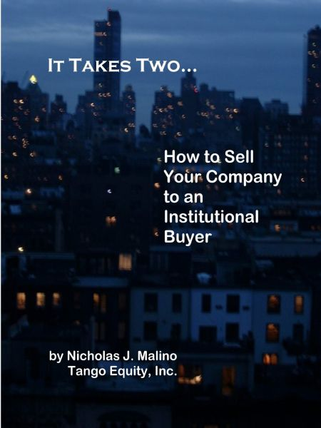 Souq | It Takes Two    How to Sell Your Company to an Institutional