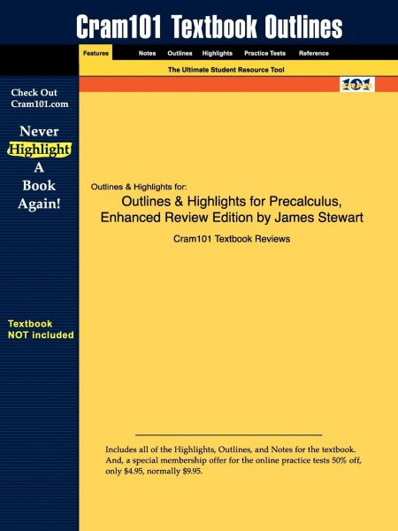 Outlines & Highlights for Precalculus, Enhanced Review