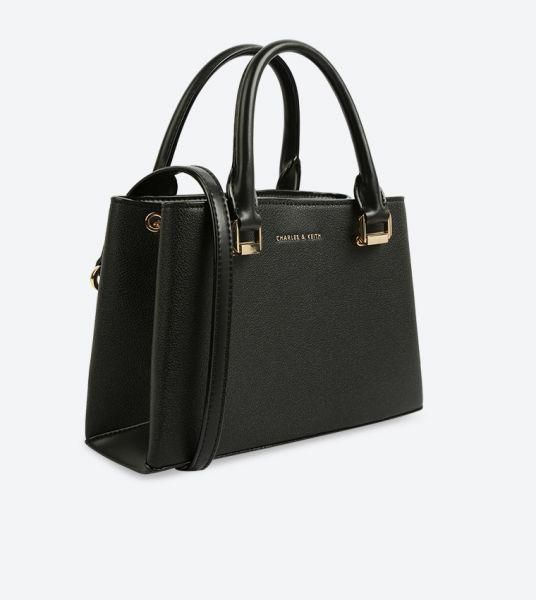 Charles Keith Bag For Women Black Tote Bags