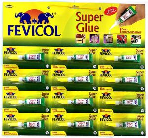 Super Glue 1 Drop Instant Adhesive 3g X 12 Nos Pidilite Fevicol Buy Online Stationery At Best Prices In Egypt Souq Com