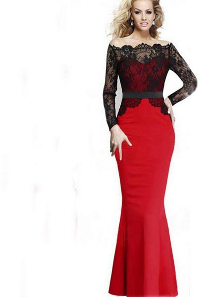Maxi Dress For Women Red Souq Uae
