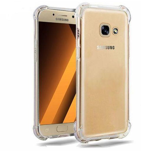 separation shoes 60040 d8076 Galaxy A7 2017 Case, Galaxy A7 2017 Clear Case, Silverback Premium Shock  Absorption Tpu Bumper Cushion- Scratch Resistant Clear Protective Cases  Hard ...