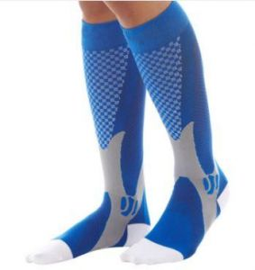 d09fd71b6 Knee High Compression Socks for Men and Women. High quality leg support for  sports and daily activities.