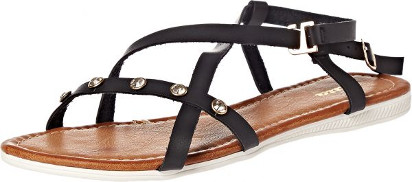 6169dec9b08c Bata Flat for Women - Black. by Bata
