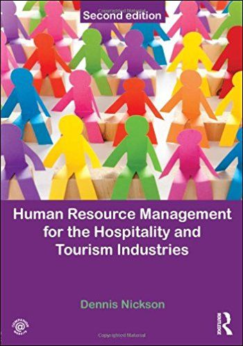 Human Resource Management For The Hospitality