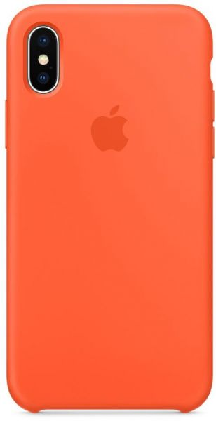356af9a94fb24 iPhone X Silicone Case - Spicy Orange. by Apple