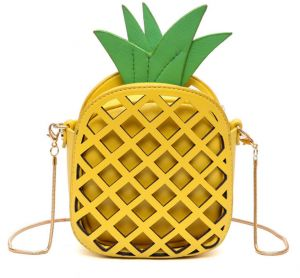 55c2cb5c6 New Korean PU version of Personality Pineapple bag All-match Fashion  Shoulder Messenger Bag ba008