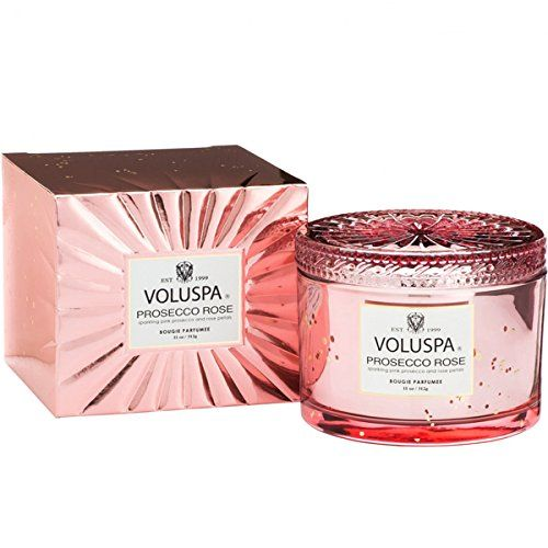 Voluspa Prosecco Rose, boxed 11-ounce