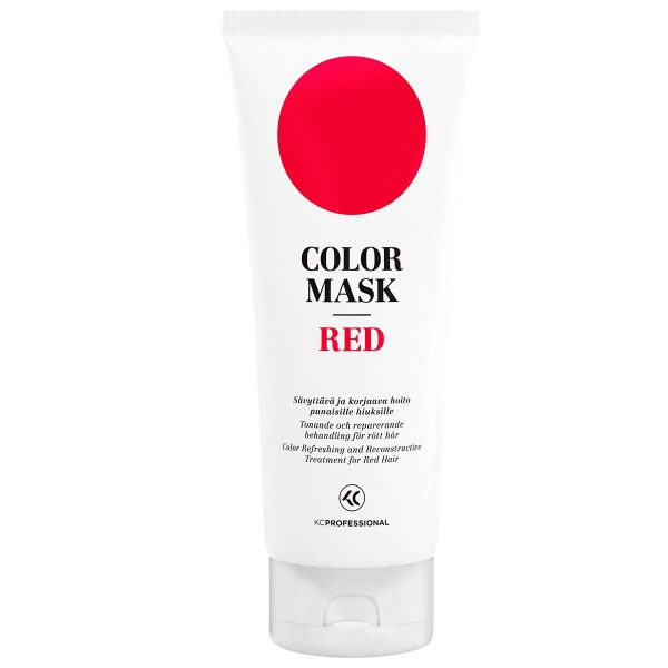 Kc Professional Color Mask Red Conditioner And Reconstructive Treatment For Treated Hair Depositing 6 76 Oz