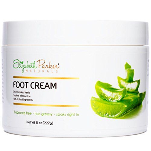 Organic Foot Cream for Dry Cracked Heels and Feet - Anti Fungal for  Athletes Foot - Best Foot Callus Remover for Men and Women - Fragrance Free  and Non ... f09fc3b4a6