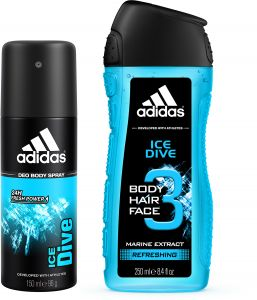 c9fa82253972 adidas Ice Dive Set for Men - Deodorant Body Spray