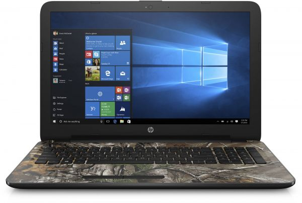 Hp 15-Bn070Wm Laptop, Intel Pentium N3710, 15.6 Inch, 1TB HDD , 4GB RAM, Windows 10, Camo