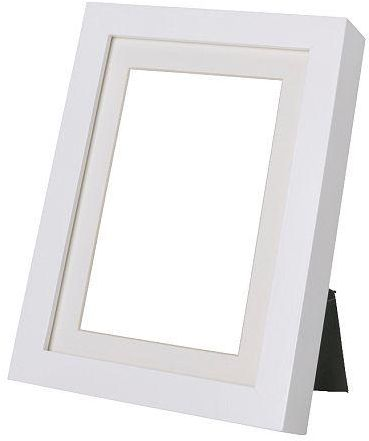Frame Photo Frame Rectangle White color, used hanging or standing ...