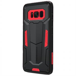Nillkin Defender Shockproof Cover for Samsung Galaxy S8 - Black/Red