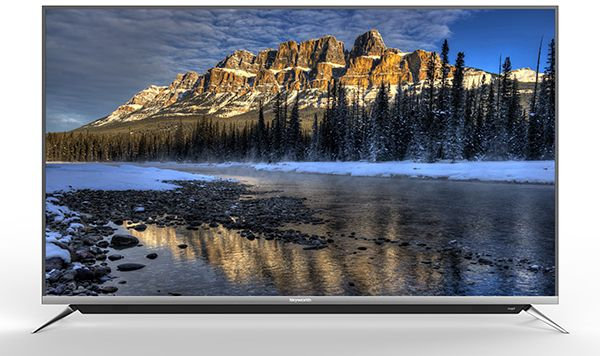 Skyworth Tv Screen 65 Inch , 4K UHD , Smart Android Tv , Voice Search ,  Silver , 65G6