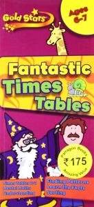 Gold Stars Times Table Ages 6-7 Key Stage 1 - Paperback