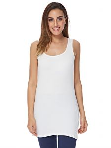 b9b8a0771a Cotton's Fit White Square Neck Tank Top For Women. by Cotton's Fit, Tops -  Be the first to rate this product