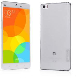 Nillkin Nature 0.6MM TPU Slim Soft Case Cover for Mi Note and Mi Note Pro - Clear
