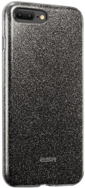 88c3dc950bc Apple iPhone 8 Plus   iPhone 7 Plus ESR Glitter Sparkle Bling Case - Black.  by ESR