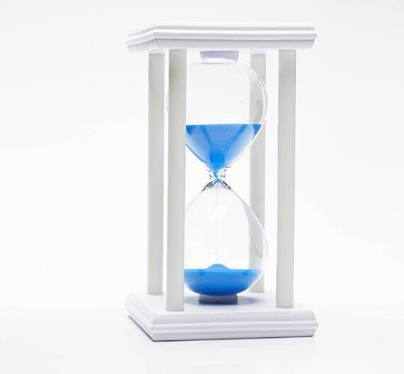 souq 30 minutes glass crystal hourglass creative home gifts