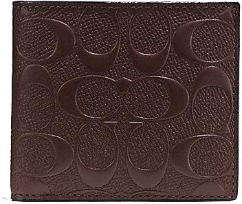 fc75b52fafee Coach Mahogany Leather For Men - Coin Purses   Pouches