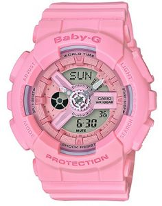 Casio G-Shock Women s Pink Dial Resin Band Watch - BA-110-4A1DR 851535435a
