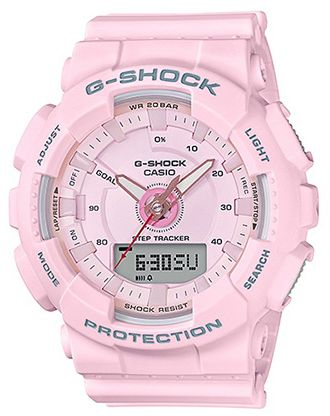 7340bf6032c Casio G-Shock Men s Pink Dial Resin Band Watch - GMA-S130-4ADR ...