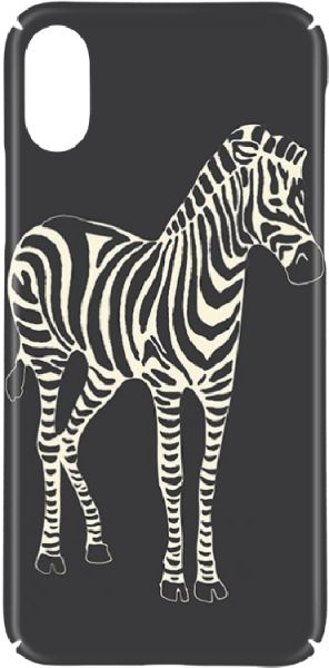 Switch Zebra Hard Cases & Covers Apple iPhone X - black beige