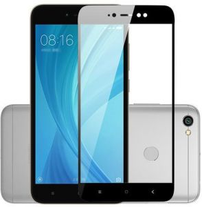 Redmi Note 5A PRIME Full Tempered Glass Screen Protector BLACK