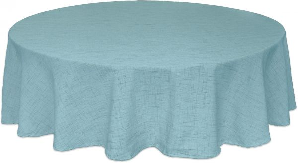 Bardwil Linens Brussels 60x84 Oval Tablecloth Turquoise Souq Uae