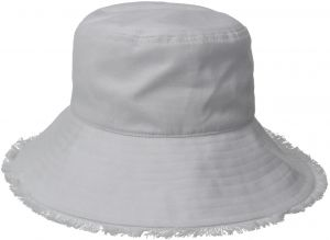 Physician Endorsed Women s Castaway Canvas Bucket Sun Hat with Fringe 130440fb70