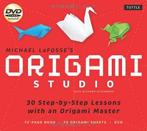 Origami Studio Kit 30 Step By Lessons With An Master Book 70 Papers And Instructional DVD