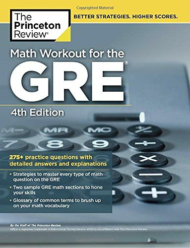 Souq | Math Workout for the GRE, 4th Edition: 275+ Practice ...