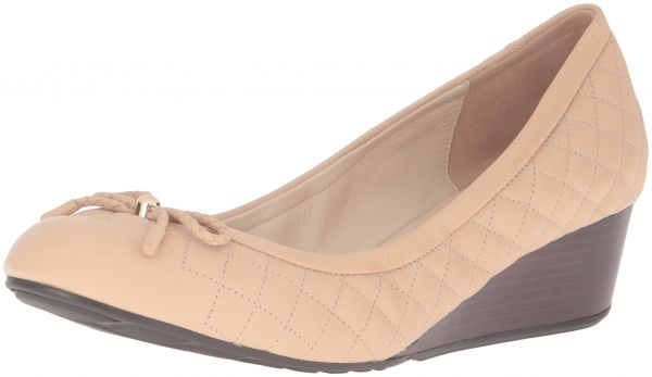 7132cab57 سوق | تسوق Cole Haan Women's Tali Grand Quilted 40mm Wedge Pump ...
