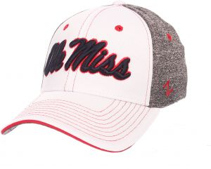 check out dc56e 8063b Zephyr NCAA Louisville Cardinals Adult Men Equinox Hat, X-Large, White Heather  Gray
