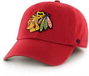 quality design 63c8e 41a6c NHL Chicago Blackhawks  47 Brand Franchise Fitted Hat, Red, Small