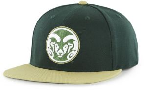 cheap for discount b9d5d 83b64 OTS NCAA Colorado State Rams Adult Gallant Varsity Snapback Adjustable Hat,  One Size, Dark Green