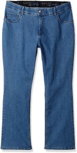 833ae3415ee Riders by Lee Indigo Women s Plus Size Stretch Fit No Gap Boot Cut Jean