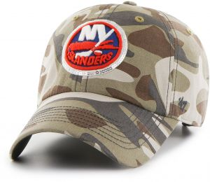 9dfbb10b173 NHL New York Islanders Women s Sparkle Camo Clean Up Adjustable Hat