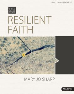 Resilient Faith Standing Strong In The Midst Of Suffering Dvd Leader Kit Bible Studies For Life