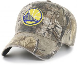 OTS NBA Golden State Warriors Realtree Challenger Clean Up Adjustable Hat a1f98aaa0763