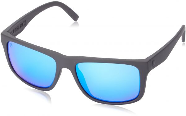 a7881f9c7c Electric Visual Swingarm XL Matte Black OHM Grey Blue Chrome Sunglasses