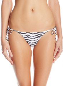 30988776761ec Sofia by ViX Women's Slim Tie Side Full Bikini Bottom, Breeze, X ...